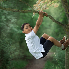 forest outdoor session tree climbing