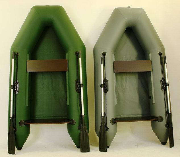 Лёгкие надувные лодки для рыбалки 240. Без настила