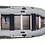 Вместительная лодка ПВХ для рыбалки. Одноместная, Двухместная, Трехместная