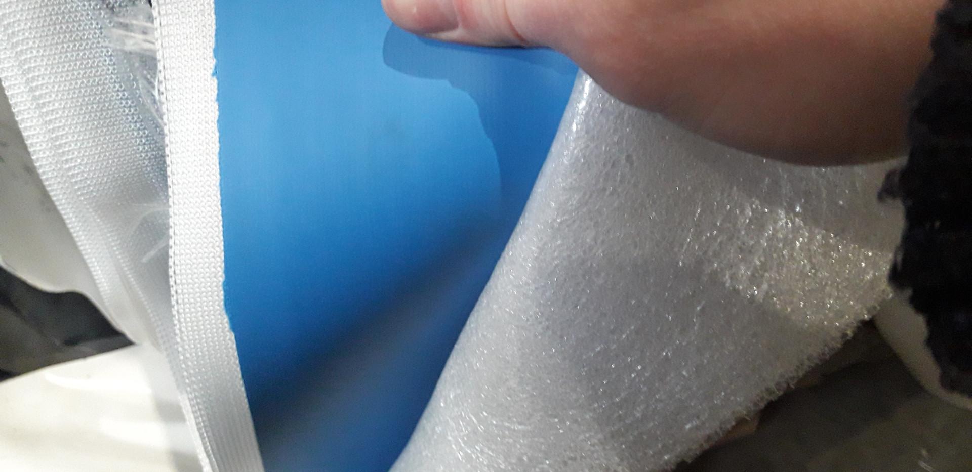 drop stitch fabric в рулонах