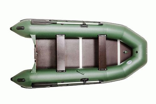 Лодка ПВХ для рыбалки с жестким полом.
