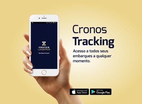 Conheça o novo app Cronos Tracking
