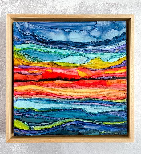 Summer Sunset - 8x8