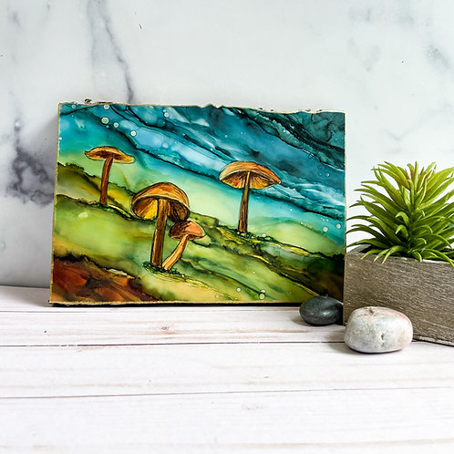Family of Funghi - 6x9