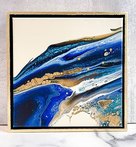 Golden Sapphire - 12x12
