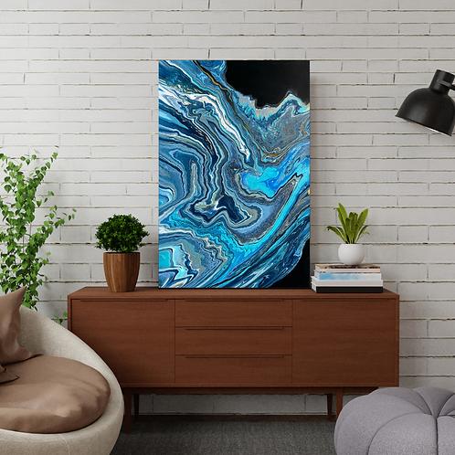 Blue Interpretation - 24x36