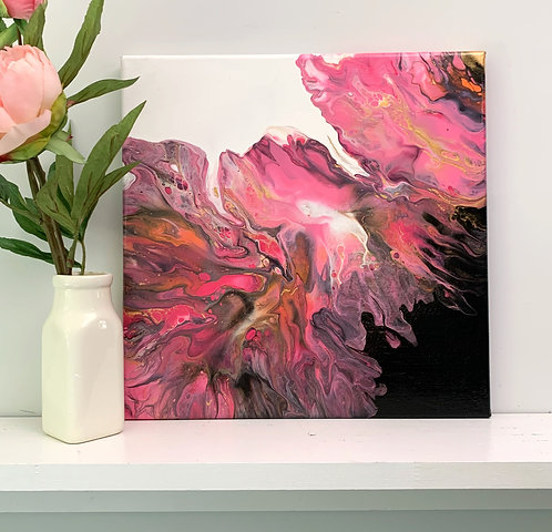 Spill Your Pink (12x12)