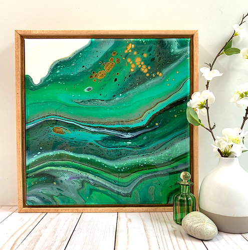 Emerald Layers (12x12)