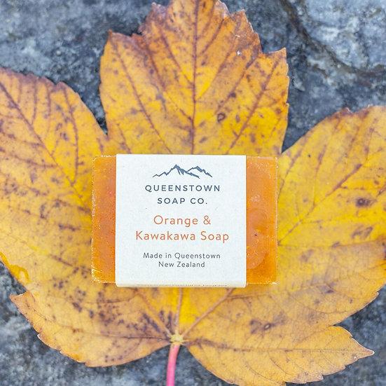 Queentown Soap - Orange & Kawakawa