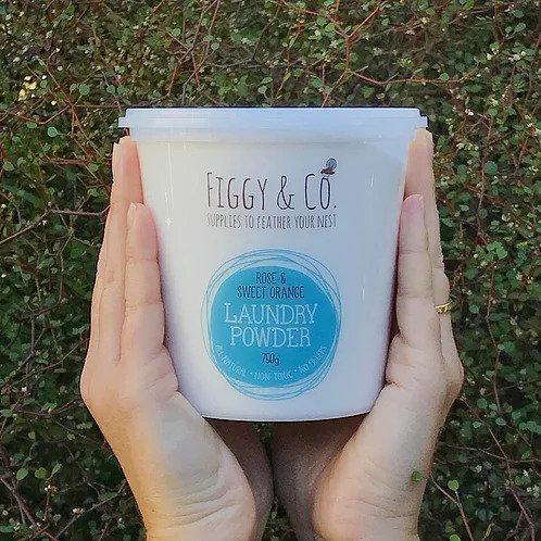 Figgy & Co Laundry Powder - Rose & Sweet Orange