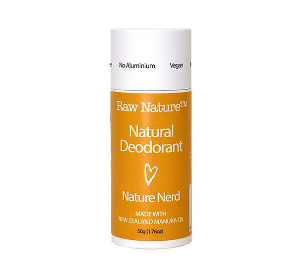 Raw Nature Natural Deodorant - Nature Nerd