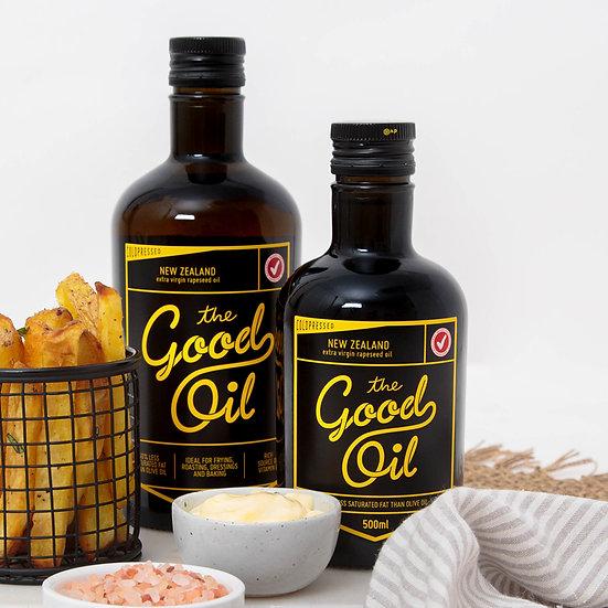 Good Oil - Extra Virgin Rapeseed Oil