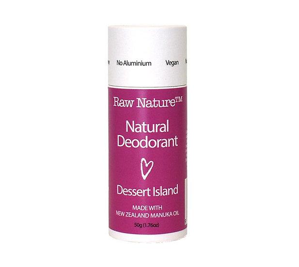 Raw Nature Natural Deodorant - Dessert Island