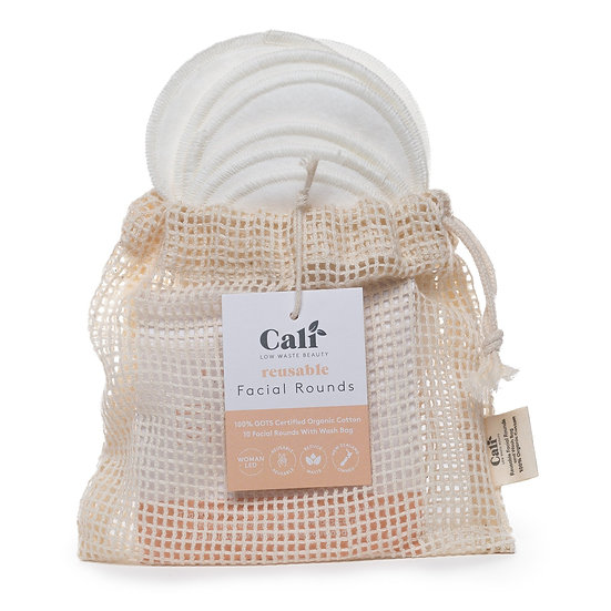 CaliWoods Reusable Facial Rounds