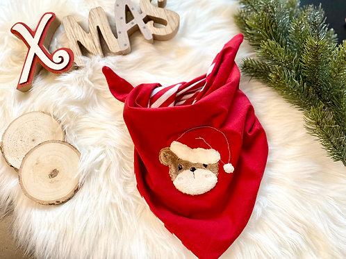 Halstuch Weihnachtsbär