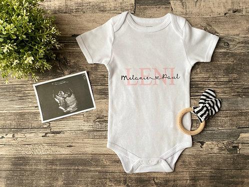 """Body """"Baby & Eltern"""" rosa"""