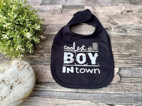 """Baby-Lätzchen """"Coolest boy"""""""