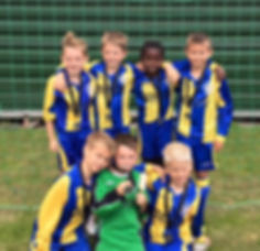Super Sixes Runners Up U9s