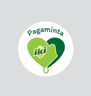 PAGAMINTA IKI rebrandas
