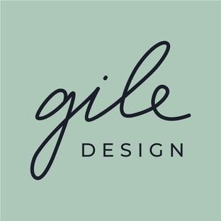 GILE design logotipas