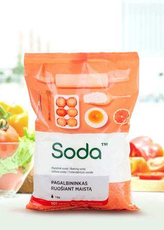 SODA, minkštos pakuotės dizainas