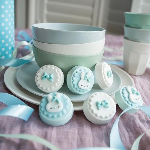 Blue Baby Bunny Cakelet Gift Box