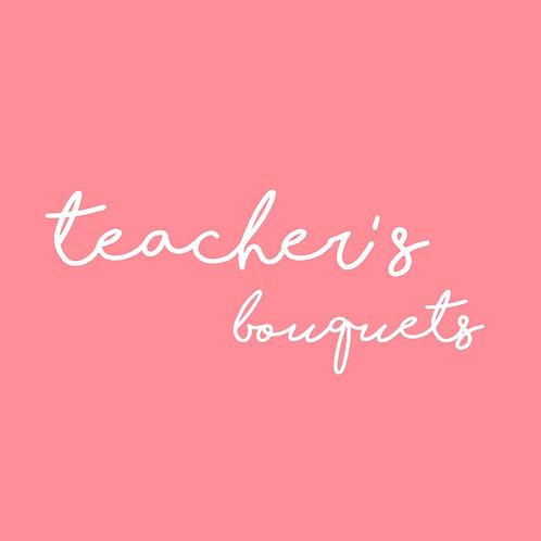 Thank You Teacher Cake Pop Bouquet