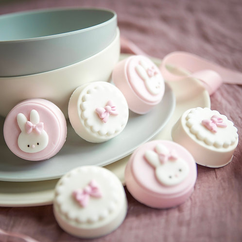 Pink Baby Bunny Cakelet Gift Box
