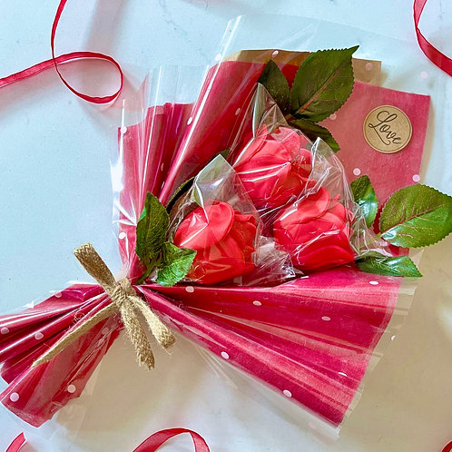 Valentine's Day Roses Cake Pop Bouquet