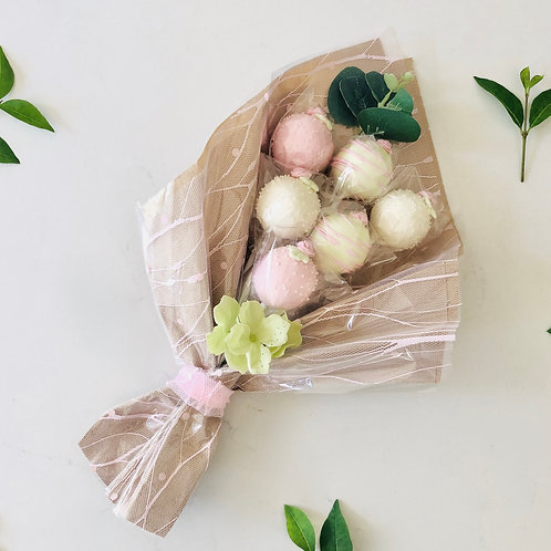 Small 6 Cake Pop Bouquet