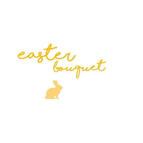 Easter Bunny Cake Pop Bouquet