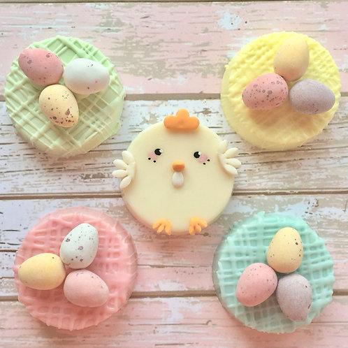 Easter Nest Cakelet Gift Box