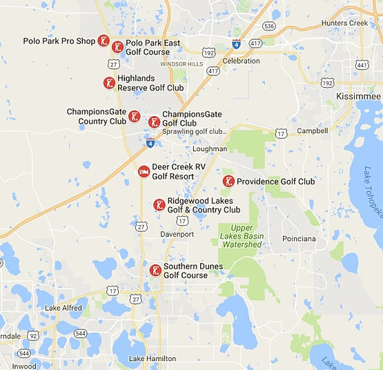 Davenport Fl Golf Courses And Clubs