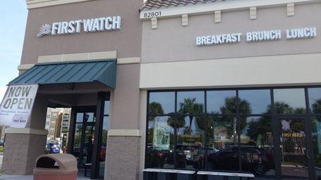 First Watch Championsgate Florida Restaurant