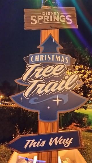 Christmas Tree Trail - Disney Springs