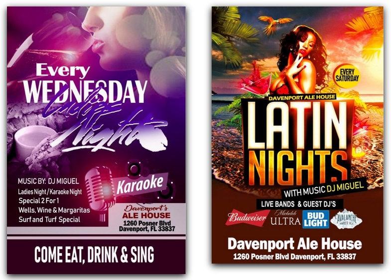 davenport florida nightlife - latin nights - ladies nights