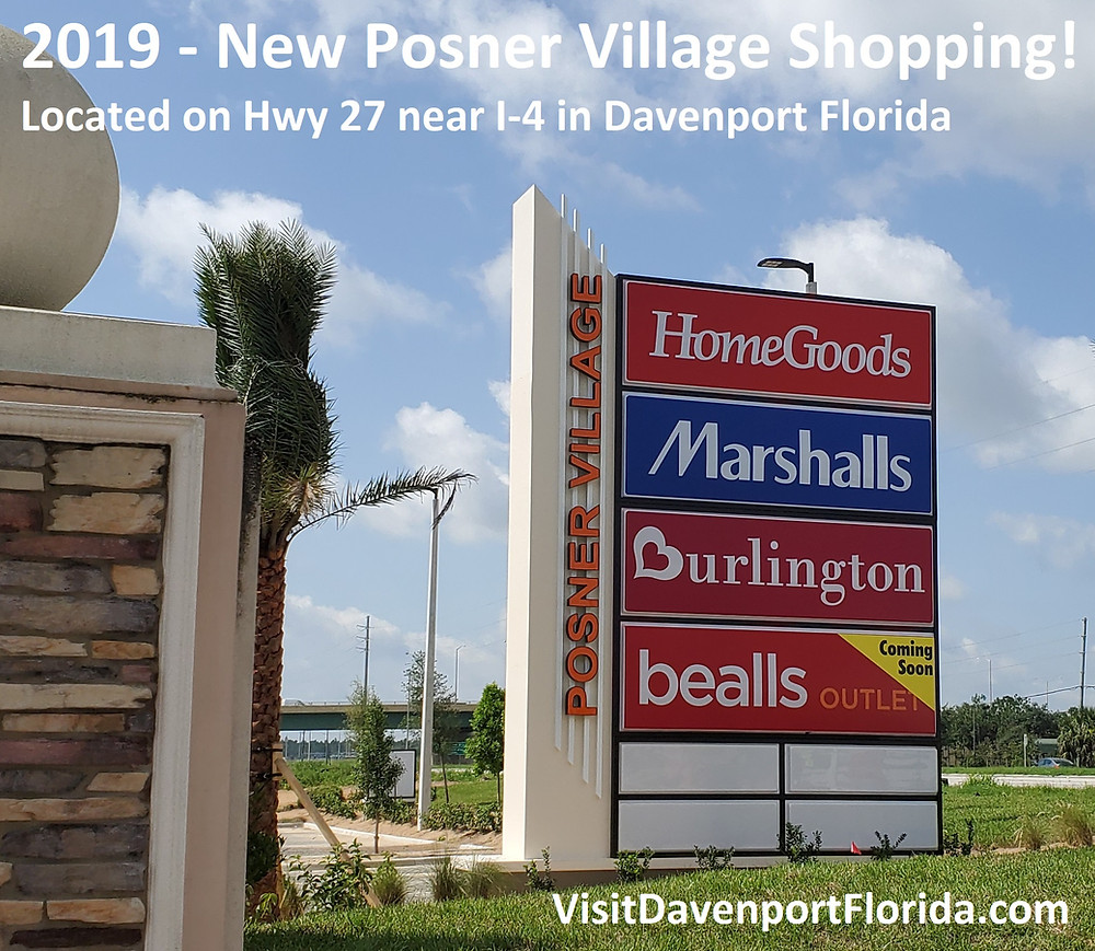 Posner Village Shopping Davenport Florida