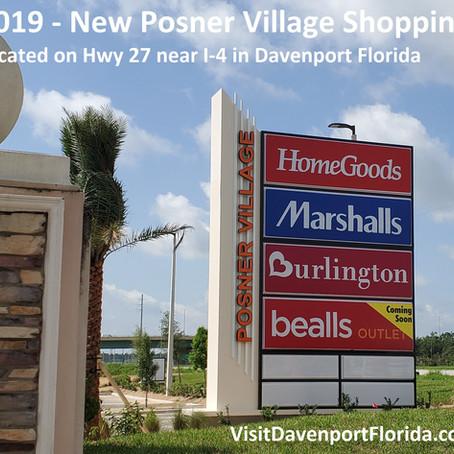 New Davenport Shopping Mall Opening 2019 - Posner Village at Posner Park