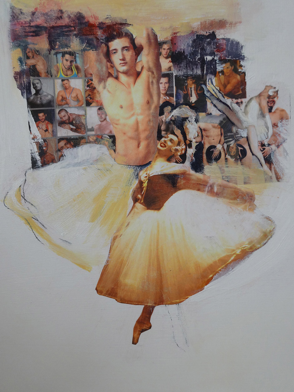 Metroman 30 x 40 ballet 3 mixed media.jp