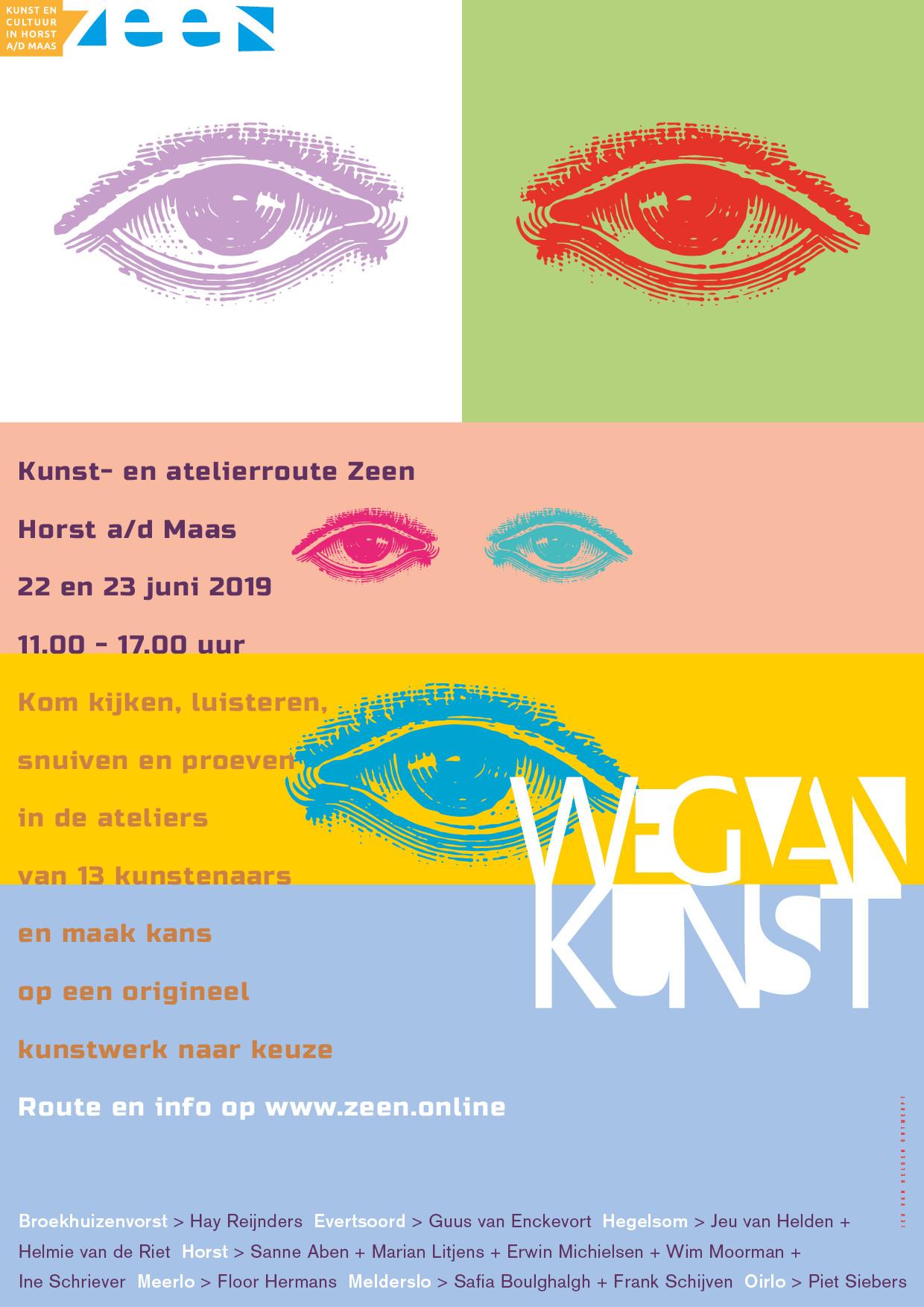Poster Weg van Kunst