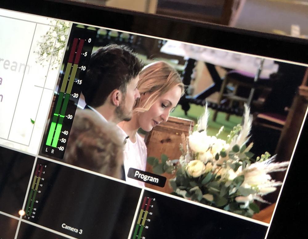 Live streaming wedding Dorset, Devon and Somerset