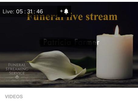 Streaming Dorset funeral