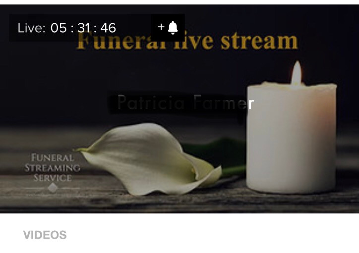 Dorset funeral live streaming