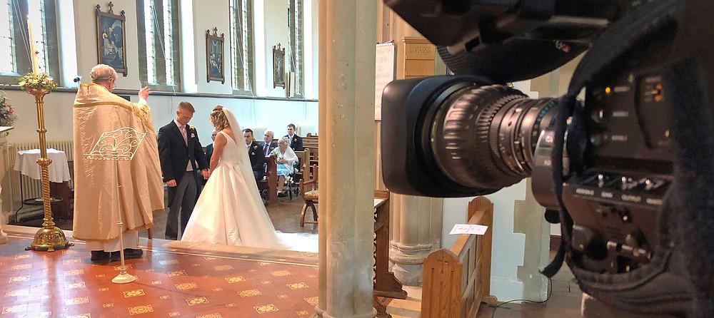 Live streaming wedding service