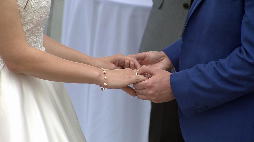 North Devon wedding live streaming