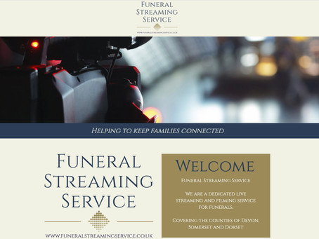 Funeral Streaming for Dorset, Devon, Somerset, Wiltshire and Hampshire.