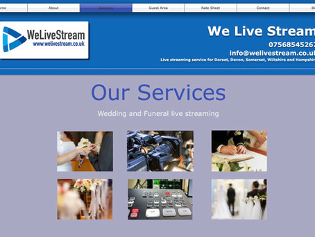 Wedding streaming service