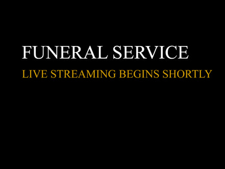 New dedicated graphics for funeral Live Streaming Devon, Dorset, Somerset, Wiltshire and Hampshire..