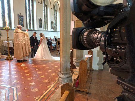 Multi camera Dorset wedding Streaming
