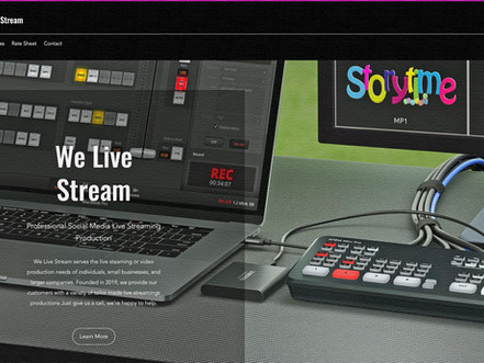 We Live Stream.....